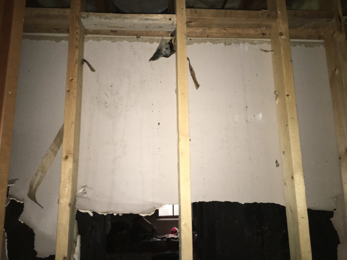 ripping out drywall after fire in springfield mo