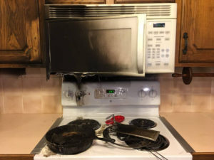 Steps Of Our Kitchen Fire Restoration Services In Springfield MO – Part 1