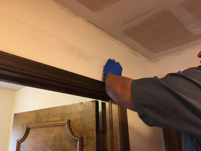 cleaning smoke residue from walls after fire