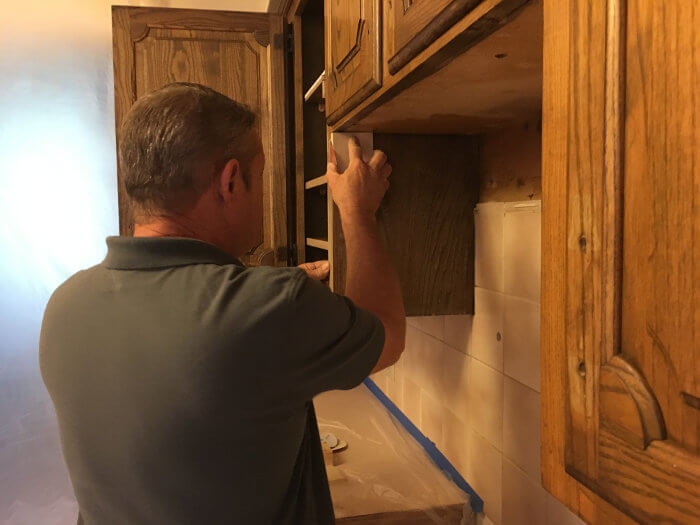 restoring cabinets after fire