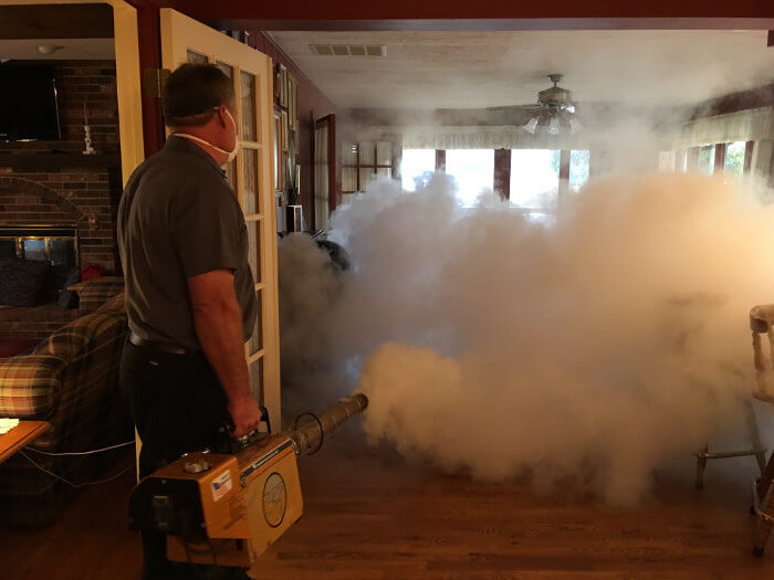 thermal fogging home after kitchen fire