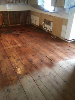 treating wood floor with anti microbial agent 9-29-17