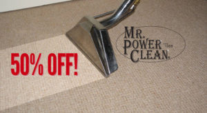 50% Off Carpet Cleaning Discount Special For Springfield, MO Residents July & August 2018