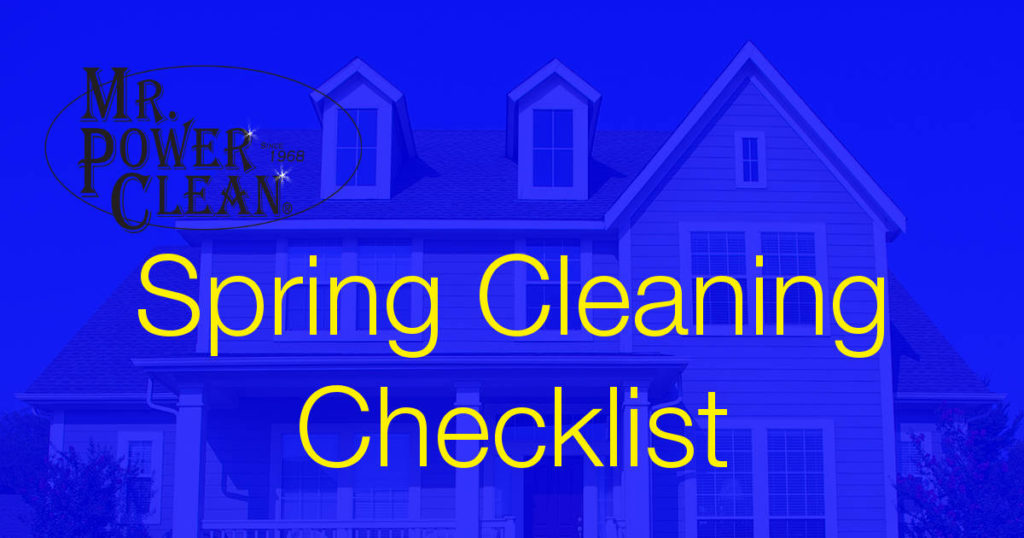 spring cleaning for homes